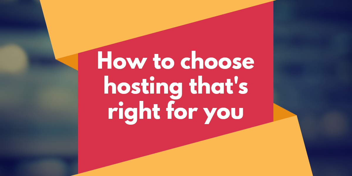 Choose Web Hosting